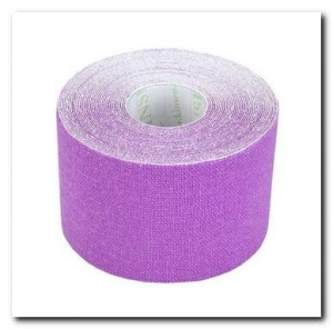 Kinseo Tape 5cm fioletowy - 5,5m
